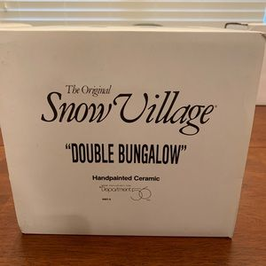 Double Bungalow